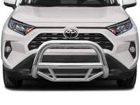 Black Horse Off Road MBS-TOB4802 Stainless Steel Stainless Steel 1 Pieces No skid plate Bumper Push Bar Bull Bar