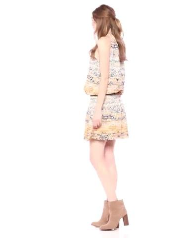 Ramy Brook Women's Printed Paris Sleeveless Mini Dress