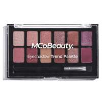 MCoBeauty Eyeshadow Trend Palette | Vegan | 12 Rich, Highly Pigmented Eye Shadow Shades