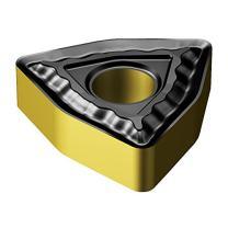 Sandvik Coromant, WNMG 431-QM 4325, T-Max P Insert for Turning, Carbide, Trigon, Neutral Cut, 4325 Grade, Ti(C,N)+Al2O3+TiN, Inveio Coating Technology (Pack of 10)