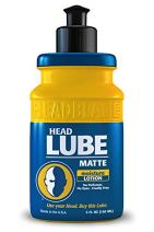 HeadBlade HeadLube Matte Aftershave Moisturizer Lotion for Men (5 oz) - Leaves Head Smoothe and Grease-Free
