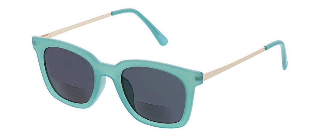 Peepers by PeeperSpecs Women's Endless Summer Square Hideaway Bifocal Sunglasses