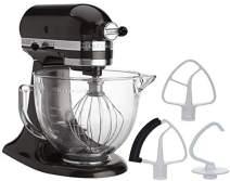 KitchenAid 5-Quart Stand Mixer Glass Bowl Onx Black