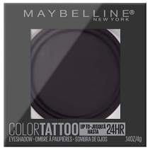 Maybelline New York Color Tattooup to 24HR Longwear Waterproof Fade Resistant Crease Resistant Blendable Cream Eyeshadow Pots Makeup, Risk Maker, 0.14 oz.