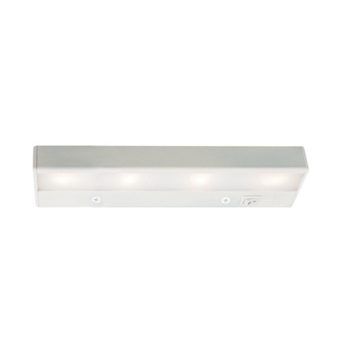 WAC Lighting BA-LED4-WT LEDme 12-Inch Under Cabinet, White Finish