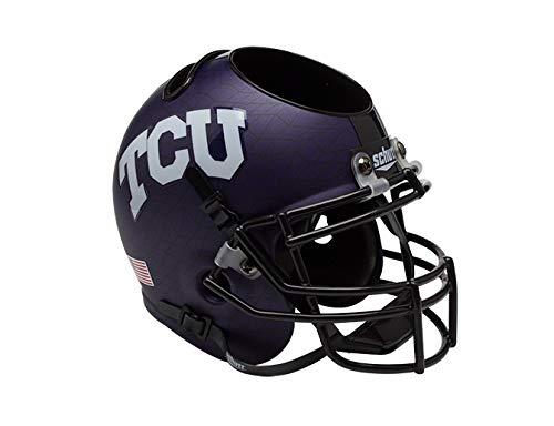 Schutt NCAA TCU Horned Frogs Football Helmet Desk Caddy