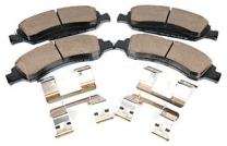 ACDelco 171-0974 GM Original Equipment Front Disc Brake Pad Kit with Brake Pads and Clips
