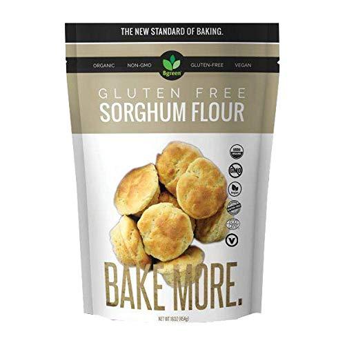 Big Green Organic Food- Organic Sorghum Flour, Gluten-Free, Kosher, Artisan Baking (1)