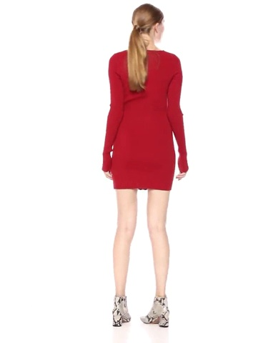 For Love & Lemons Women's Annie Zipper Mini Dress