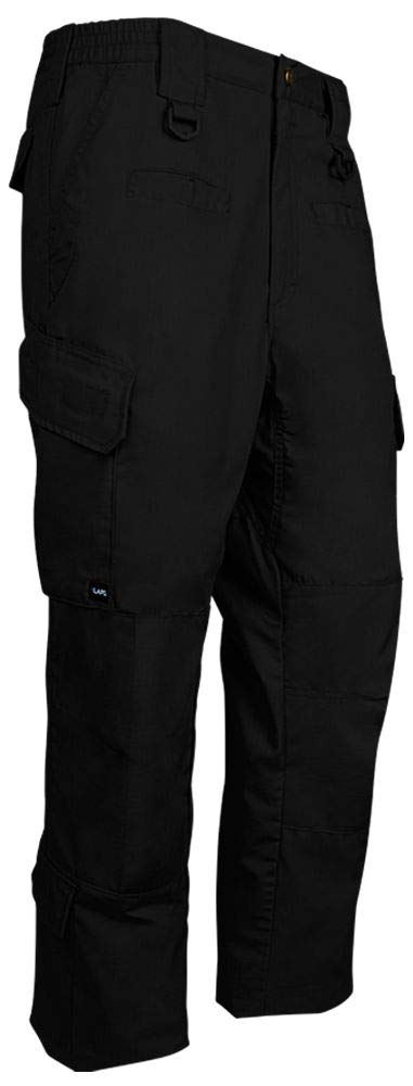 LA Police Gear Men's Water Resistant Operator Tactical Cargo Pants with Lower Leg Pockets