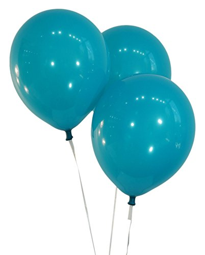 """Creative Balloons 12"""" Latex Balloons - Pack of 72 Pieces - Decorator Teal"""