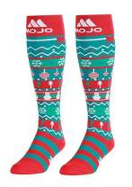 Compression Mojo Christmas Socks – Graduated Compression Stockings - Firm Support 20-30mmHg - Mojo Compression Socks - Size Large