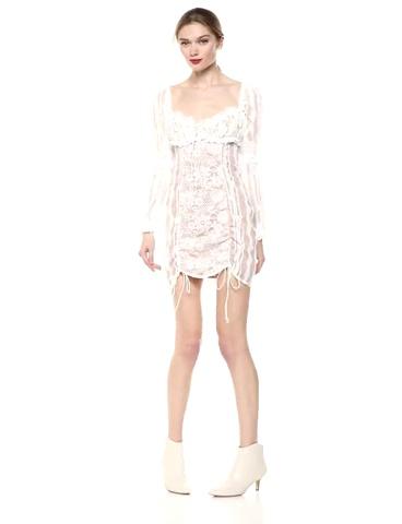For Love & Lemons Women's Monroe Mini Dress