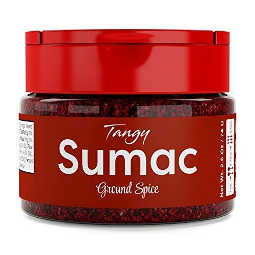 USimplySeason Sumac Spice (Tangy Powder, 2.6 Ounce)