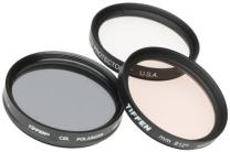 Tiffen 77mm Photo Essentials Kit with UV Protector, 812 Color Warming, Circular Polarizing Glass Filters and 4 Pocket Pouch