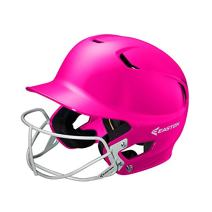 EASTON Z5 Batting Helmet with Softball Mask | Junior | Solid Color | 2019 | Dual Density Impact Absorption Foam | High Impact Resistant ABS Shell | Moisture Wicking BioDRI liner