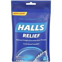 Halls Drops, Menthol-Lyptus, 30-Count Drops (1 Pack)