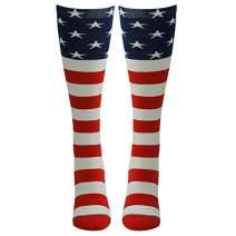 Crazy Funny Knee-High Chicken Novelty Cotton Sock Crew Happpy Gift Women Men M/L