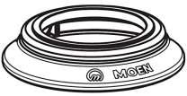 Moen 103463BN Spout Escutcheon - Brushed Nickel
