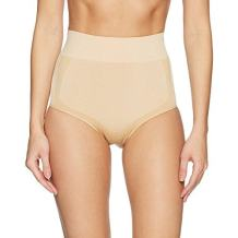 Amazon Brand - Arabella Women's Shine and Matte Seamless High Waist Shapewear Brief