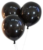 """Creative Balloons 12"""" Latex Balloons - Pack of 72 Pieces - Decorator Midnight Black"""
