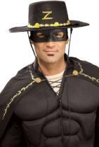 Rubie's Costume Co Men's Zorro Novelty Hat