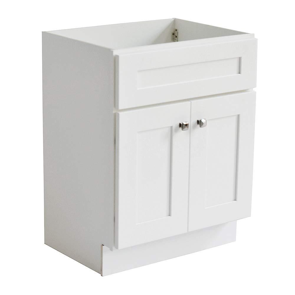 Design House 559021 Brookings I Unassembled 2-Door Shaker Vanity 30x31.5x21, White, 114 Piece