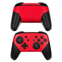 Solid State Red Decalgirl Skin Sticker Wrap Compatible with Nintendo Switch Pro Controller