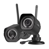 meShare Outdoor Camera 1080p - Security Camera System Wireless Cloud Cam with Weatherproof, Motion Detection, Night Vision and Activity Alerts, Works with Alexa (2 Pack)
