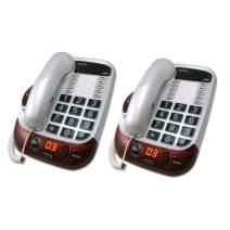 Clarity Alto Digital Extra Loud Big Button Speakerphone- Packs (2 Pack)