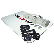 Flowin Sport Exerciser Slide Board and Friction Resistance Training System for Improving Stability, Mobility, Strength, Balance, Speed and Power.