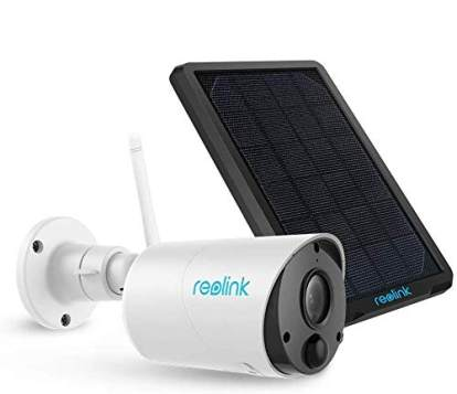 Solar or Rechargeable Battery Powered 1080p HD Wire-Free 2-Way Audio REOLINK Argus 2 Starlight Color Night Vision with PIR Motion Sensor and SD 2 Pack Outdoor Wireless Home Security Camera System