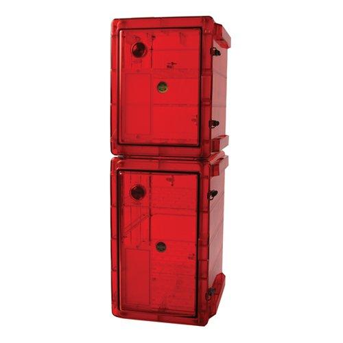 Bel-Art Bundled Secador 3.0/4.0 Gas-Purge Desiccator Cabinets in Amber Color; 3.4 cu. ft. (F42074-0430)
