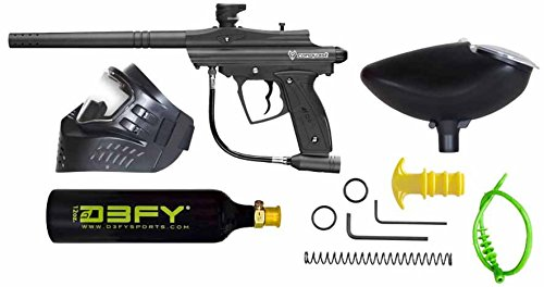 D3FY Conqu3st Semi Auto Paintball Marker Combo Kit