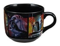 Vandor 99053 Star Wars 20 Ounce Ceramic Soup Mug, Multicolored