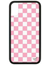Wildflower Limited Edition Cases for iPhone X and XS (Pink Checkered)