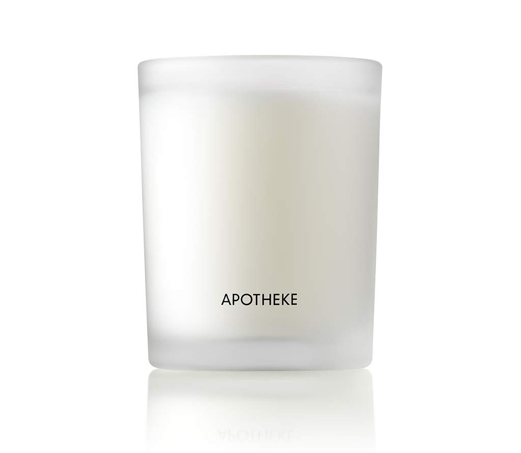 APOTHEKE Luxury Scented Votive Jar Candle, White Vetiver, 2.5 oz (2 Pack) - Eucalyptus, Lilac, Vetiver, Amber & Cedarwood Scent, Strong Fragrance, Aromatherapy, Long Lasting, Hand Poured in USA