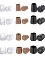 MTLEE 12 Pairs Heel Repair Caps Covers High Heel Protector for Women's Shoes, XS, S, M, L, 3 Colors