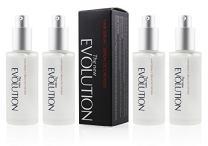 Evolution Argan Oil Serum For Hair - Vitamin E Hair Serum To Soften Dry Hair - Nourishing Serum For Hair Straightening - Oil Hair Serum With Aloe Vera (4 Pack)
