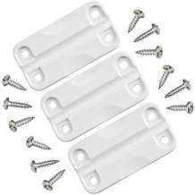 Igloo Cooler Plastic Hinges for Ice Chests (Set of 6)