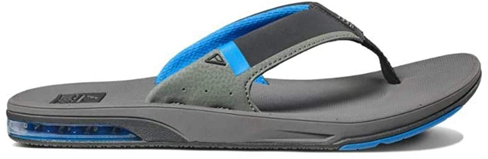 Reef Mens Sandals Fanning Low|Bottle Opener Flip Flops With Arch Support