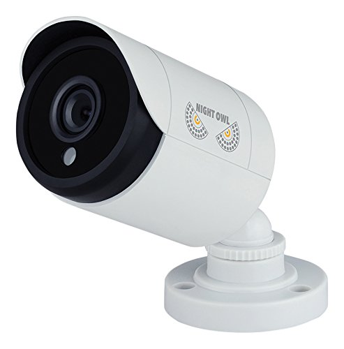 Night Owl CAM-HDA10W-BU 1 Pack Add–On 1080p HD Wired Security Bullet Camera (White)
