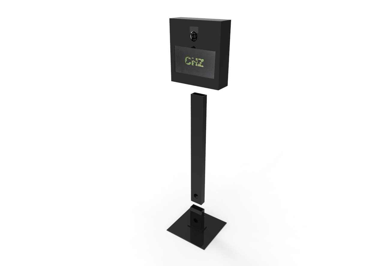 DIY Portable Photo Booth Camera Kiosk – Professional Touchscreen All in One PC Computer Custom Photobooth – Webcam - Windows 10 Included (Black)
