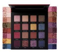 Milani Gilded Rouge Eyeshadow Palette - Eye Shadow Palettes For Intense Color Pop, 16 Hyper-Pigmented Eye Shadows