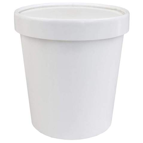 [10 Count] 16 oz Freezer Containers And Lids - With Non-vented Lids to Prevent Freezer Burn - Premium Heavy Duty Ice Cream Containers! Frozen Dessert Supplies