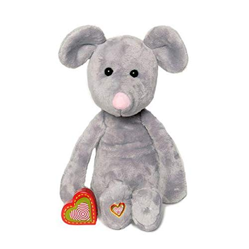 My Baby's Heartbeat Bear - Vintage Stuffed Mouse with a 20 Second Voice/Sound Recorder Keeps Your Baby's Ultrasound Heartbeat Safe! - Vintage Mouse