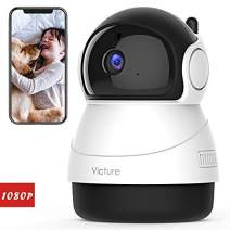 [Stay Strong, USA] Victure 1080P Baby Monitor with WiFi Camera FHD Indoor Wireless Surveillance Security IP Camera with Motion Detection Night Vision 2-Way Audio Cloud Storage for Baby/Elder/Pet