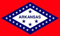 Valley Forge Flag Made in America 3' x 5' Nylon Arkansas State Flag