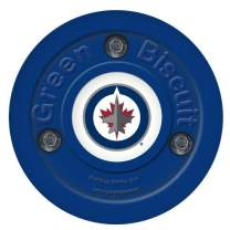 Green Biscuit Original NHL Puck. Pick Your Favorite NHL Team!