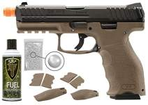 Wearable4U Umarex H&K VP9 Tactical GBB(VFC) Airsoft Pistol GBB Air Soft Gun Bundle